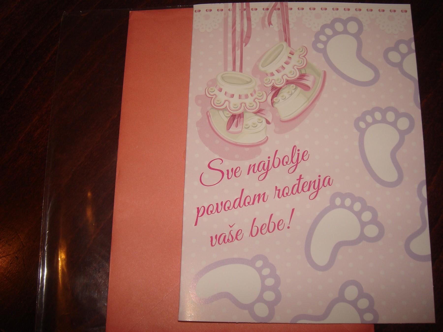čestitke za rođenje djeteta slike Cestitka za rodjenje bebe 17x12cm   Kupindo.(30087349) čestitke za rođenje djeteta slike