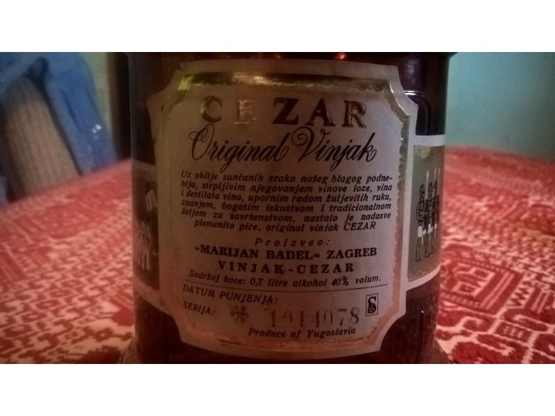 Cezar original vinjak