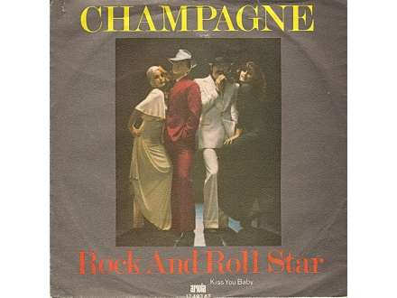 Champagne (5) - Rock And Roll Star