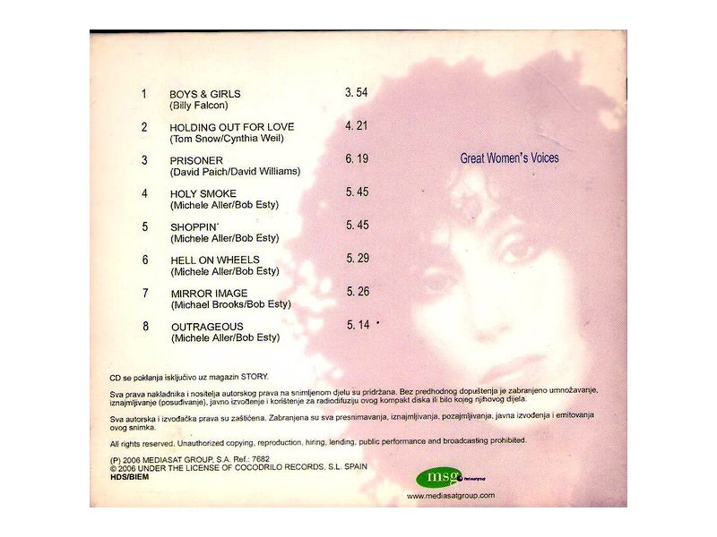 Cher - Great Women`s Voices 1