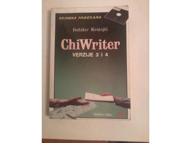 ChiWriter-verzije 3 i 4, Božidar Krstajić