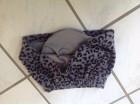 Children place animal print suknjica sa postavom 2g
