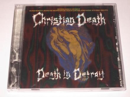 Christian Death – Death In Detroit (CD), USA