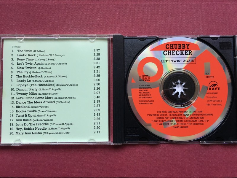 Chubby Checker - LET`S TWIST AGAIN Compilation 1992