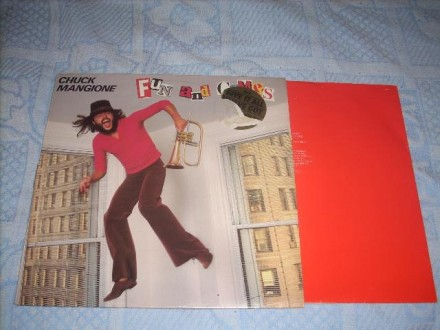 Chuck Mangione-Fun And Games LP Holland