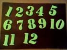 Cifre od pene za sat 15 komada