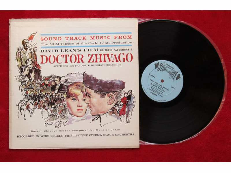 Cinema Sound Stage Orchestra, The - Sound Track Music From Doctor Zhiwago