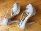 Cipele bez boje antilop Safran br. 40