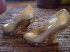 Cipele markantne zlatne JAFA