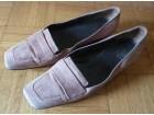 Cipelice, vel. 38, antilop koža, roze boja, Italija