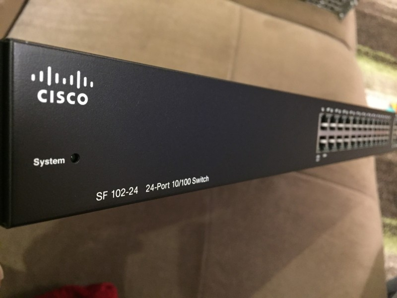 Cisco Switch SF-102-24