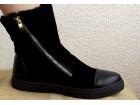 Čizme crne -prelepe- ***NOVE sa etiketom