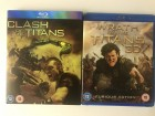 Clash of Titans and Wrath of Titans blu ray