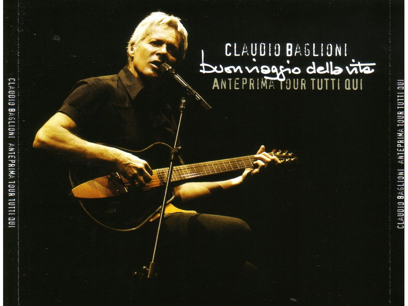 Claudio Baglioni - Anterprima Tour Tutti Qui 3xCD