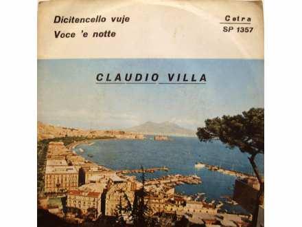 Claudio Villa - Voce `E Notte / Dicitencello Vuje