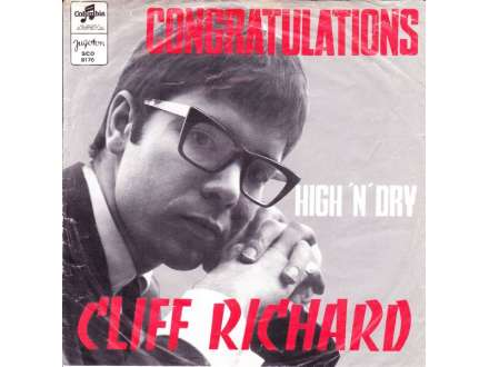 Cliff Richard - Congratulations / High `N` Dry