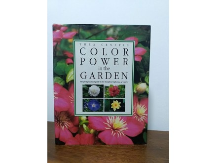 Color power in the garden, Thea Crnetic