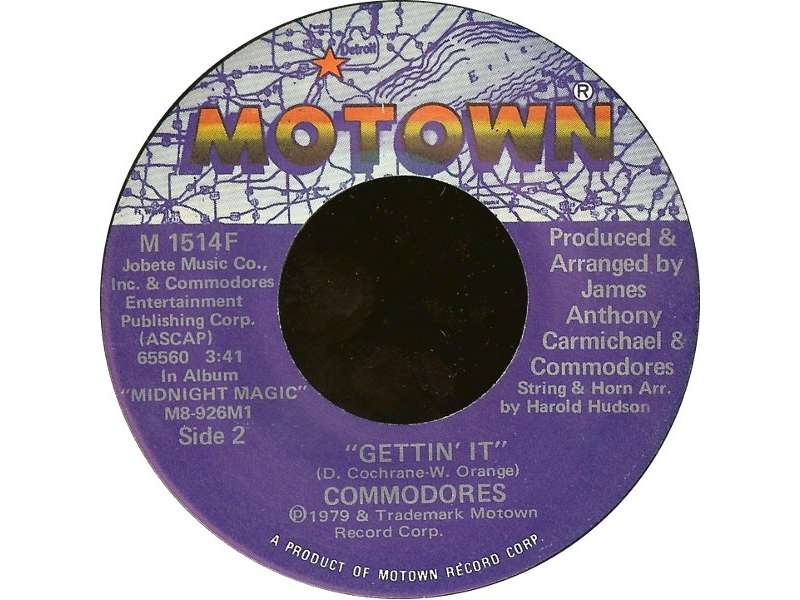 Commodores - Lady (You Bring Me Up) / Gettin` It