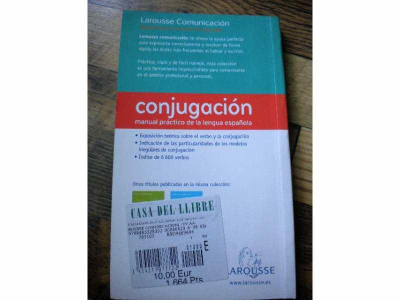 Conjugacion - Lengua Espanola