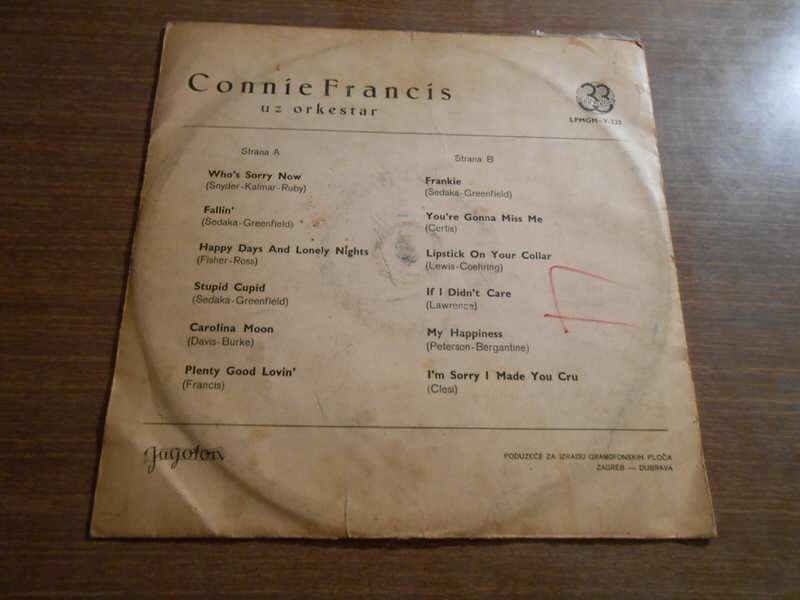 Connie Francis - Connies Greatest Hits