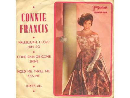 Connie Francis - Hallelujah, I Love Him So