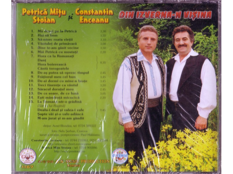 Constantin Enceanu & Patrica Mitu Stojan - Din Izvena-n Visina