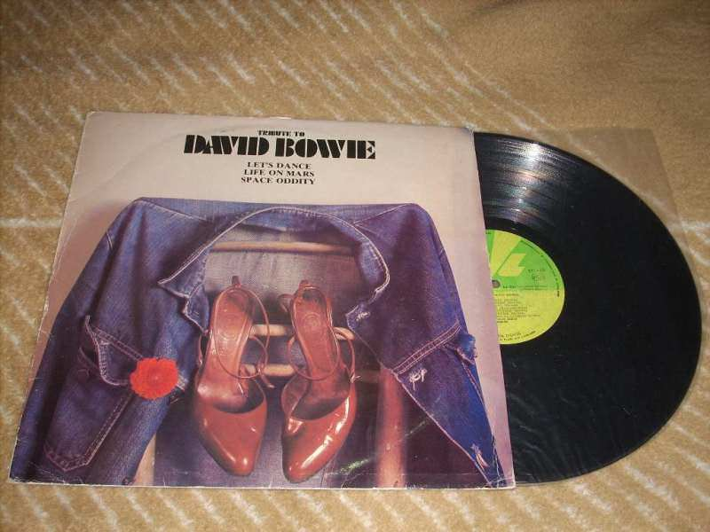 Coombe Music - Tribute To David Bowie LP