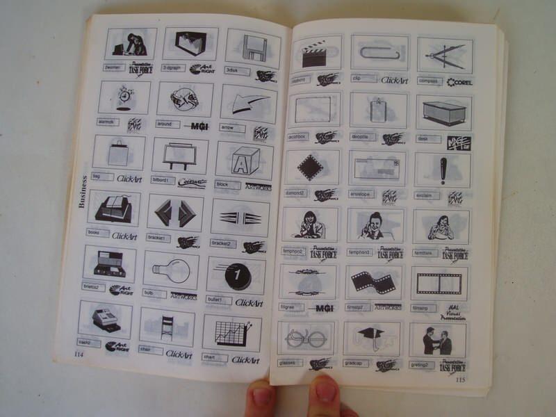 Corell Draw 2.  uputstvo za koriscenje iz 80 godina