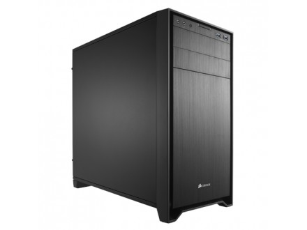 Corsair Midi Tower 350D Obsidian Black - micro ATX