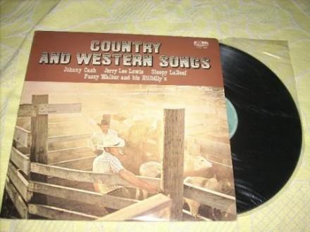 Country & Western Songs Door De Early Birds