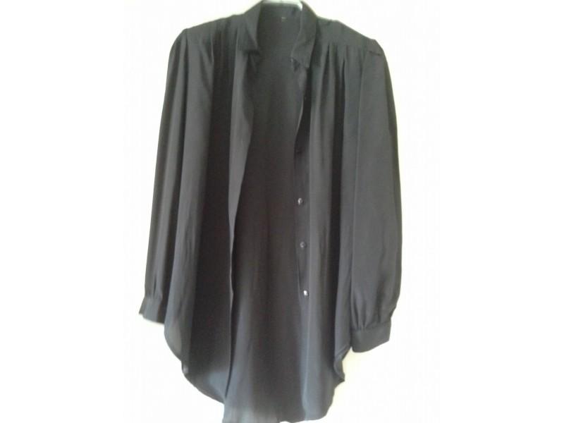 Crna svilena košulja