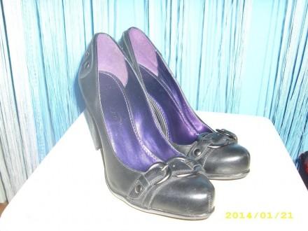 Crne kozne cipele exstra model