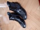 Crne ravne cipele