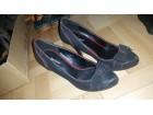 Crno crvene cipelice