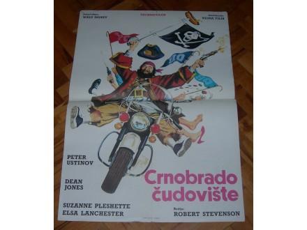 Crnobrado čudovište - filmski plakat