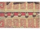 Crnogorska nošnja / DETALJ + pečat Muzeja Njeguši