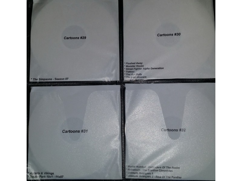 Crtani filmovi kolekcija - preko 350 naslova!!!