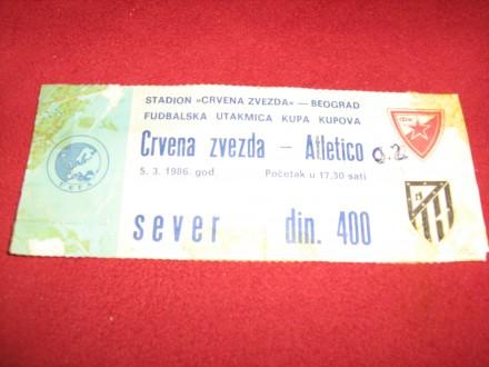 Crvena Zvezda-Atletiko