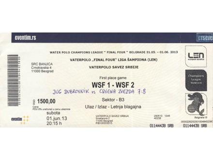 Crvena Zvezda - Jug 8: 7 , finale Lige Šampiona 2013.go