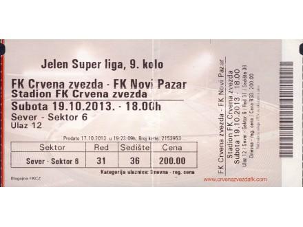 Crvena Zvezda - Novi Pazar , 2013.god.