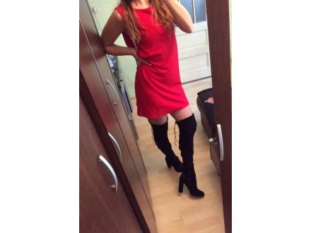 Crvena haljina Nova Nova
