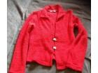 Crvena jaknica-dzemperic