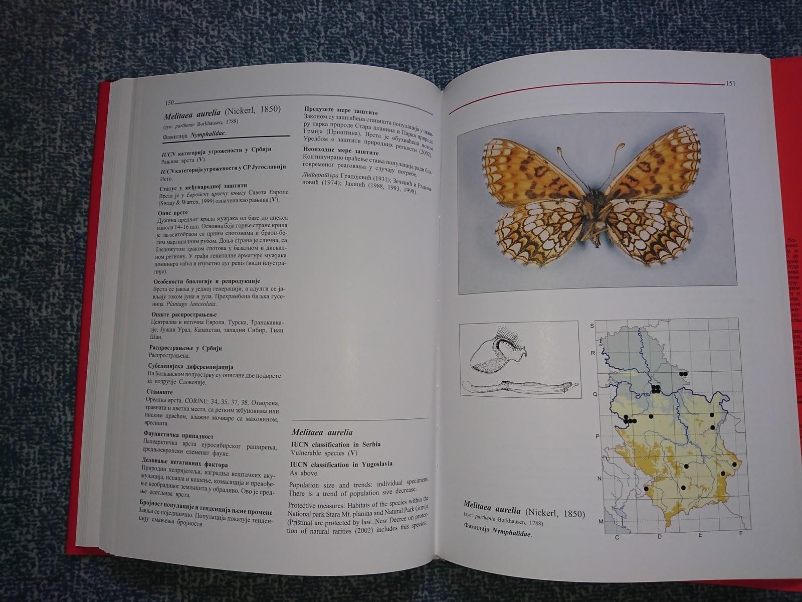Crvena knjiga dnevnih leptira Srbije - Kupindo.com (51206269)