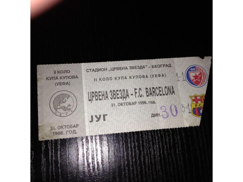 Crvena zvezda-Barselona