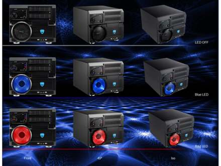 Cube tower Aerocool Qx 2000+8600 GT kompletan racunar
