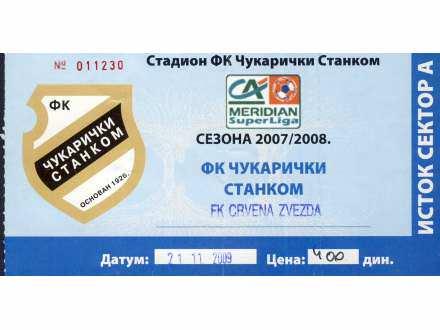 Čukarički - Crvena Zvezda   ,   2009.god.