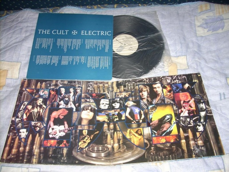 Cult, The - Electric LP gatefold