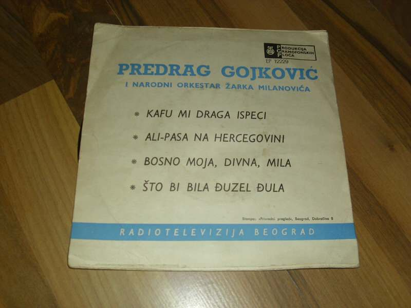 Cune Gojković - Kafu Mi Draga Ispeci