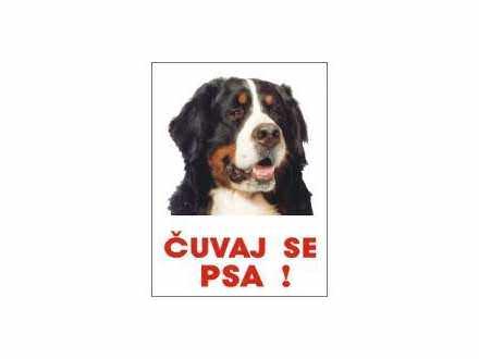 Čuvaj se psa   - Bernski pastirski pas table i nalepnic