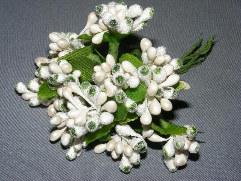 Cvetici za izradu dekoracije 12 kom.  NOVO !!!